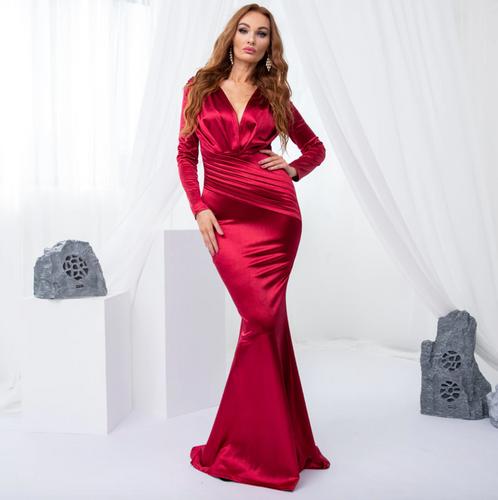 Mila Label Jadore Gown - Red