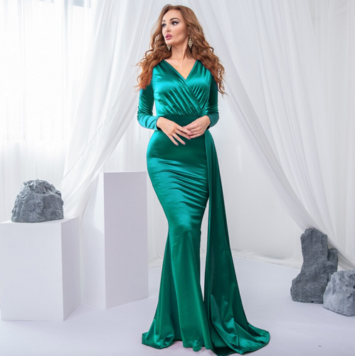 Mila Label Selene Gown - Emerald