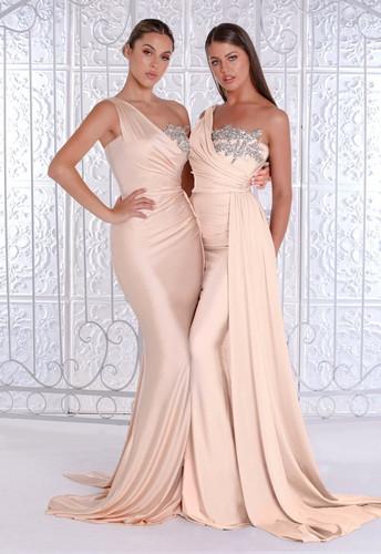 Portia & Scarlett PS21219 Gown - Champagne