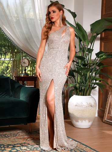 Mila Label Weleda Gown - Silver