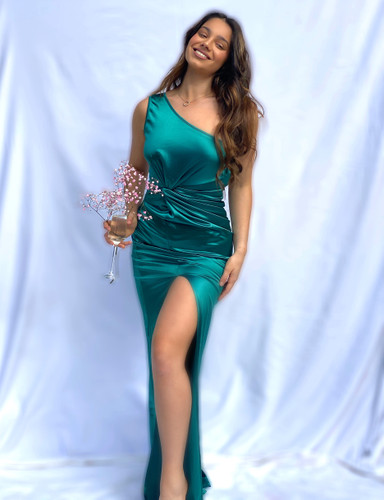Mila Label Wendy Gown - Green
