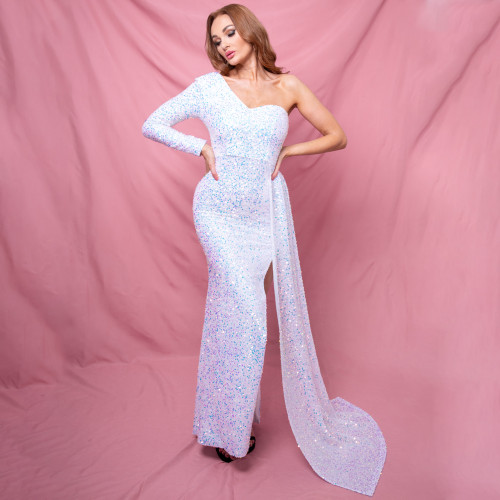 Mila Label Naomi Gown - Iridescent