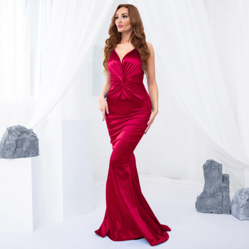 Mila Label Marney Gown - Red