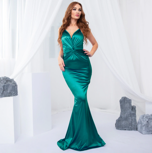 Mila Label Marney Gown - Green