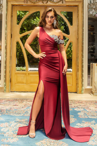 Portia & Scarlett PS22222 Gown - Deep Red