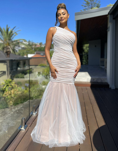 Jadore JX5071 Gown - Ivory/Nude