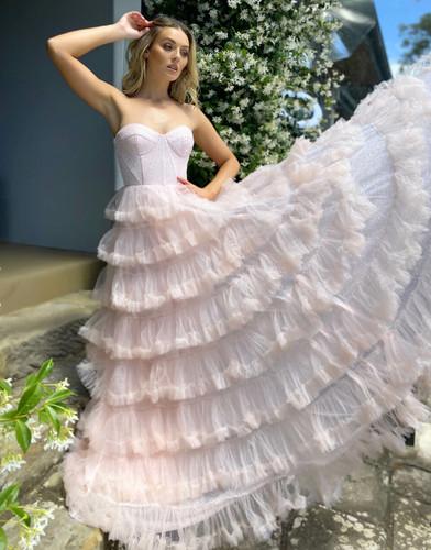 Jadore JX5039 Gown - Pink
