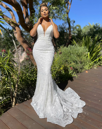 Jadore JX5053 Gown - Ivory/Ivory