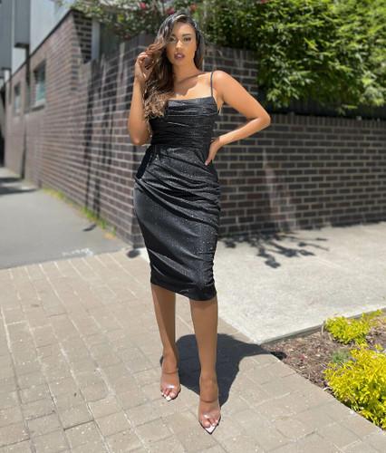 Jadore JX5075 Dress - Black