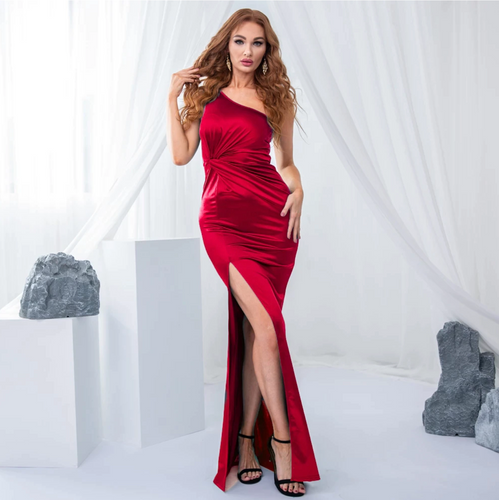 Mila Label Wendy Gown - Red