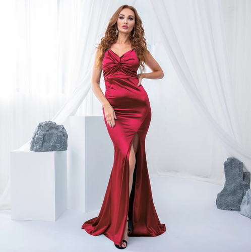 Mila Label Marlies Gown - Red