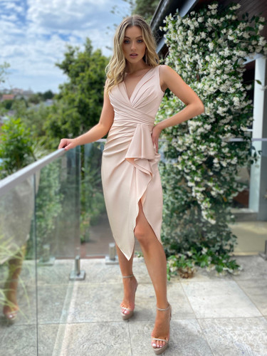 Jadore JX5025 Dress - Cream
