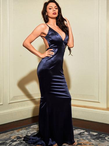 Mila Label Grace K Gown - Navy