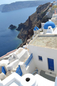 Oia 1 Santorini - photo (pre canvas mounting)