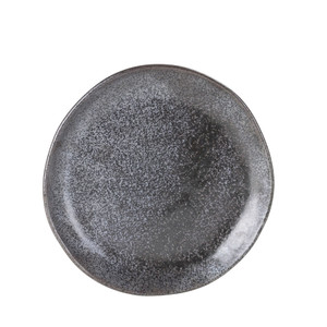 Robert Gordon - Side Plate - Black - Earth Collection 21cms Diameter
