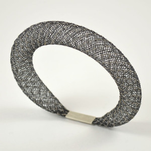 Workshop85 - Sophia Emmett - Bracelet - Thin Black Reflective