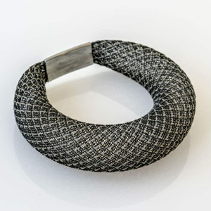 Workshop85 - Sophia Emmett - Bracelet - Thick Black Reflective