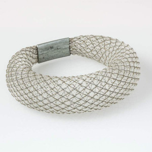 Workshop85 - Sophia Emmett - Bracelet - Thick White Reflective