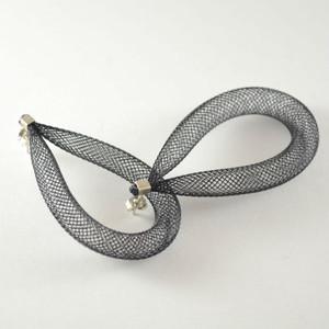 Workshop85 - Sophia Emmett - Earrings Pierced - Loop Black