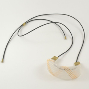 Workshop85 Sophia Emmett - Necklace - Entwined White and Gold Strand