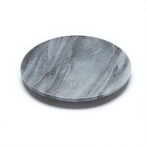 Baby Noir Flared Dish - Colour Noir - Charcoal & Black with Grey veins  12cms Diameter