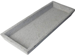Zakkia Concrete Serving Tray - 30 x 10cms