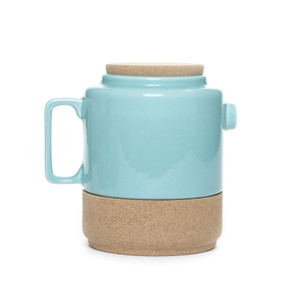Alma Gemea - Sateen, Portuguese Tea Pot - Soul Mate Collection Colour: Blue