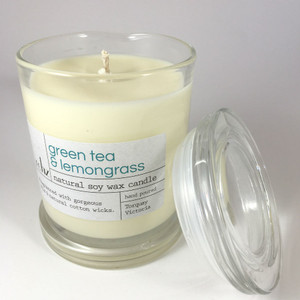 Candle in Glass - Green Tea and Lemongrass