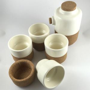 Alma Gemea - Sateen, Tea Set - 4 Espresso Cups - Soul Mate Collection Colour: Pearl