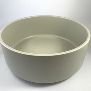 Mint Home - Sienna Salad Bowl 24.5cm diameter x 10cmH, Coastal Stone