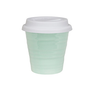 Robert Gordon - Carousel Coffee Keep Cup 280ml- Duck Egg with white silicon lid