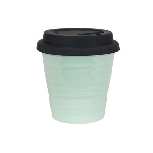 Robert Gordon - Carousel Coffee Keep Cup 280ml- Duck Egg with black silicon lid