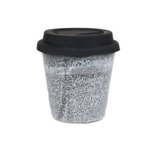 Robert Gordon - Carousel Coffee Keep Cup 280ml- Storm with black silicone lid