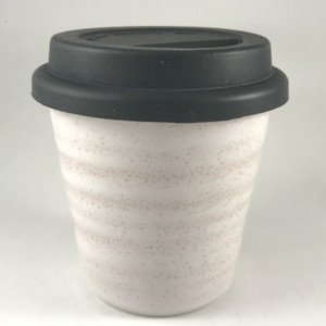Robert Gordon - Carousel Coffee Cup 280ml - Rose Quartz with black silicone lid