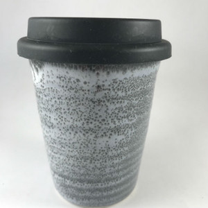 Robert Gordon - Carousel Coffee Cup Large 375ml - Storm with black silicone lid