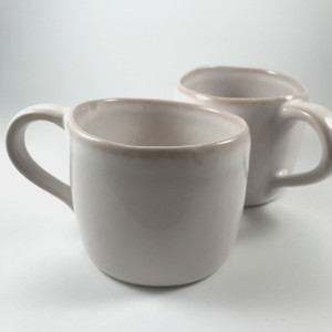 Robert Gordon - Pair of Organic Mugs - Rose Quartz