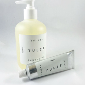 Organic Liquid Hand Soap 350ml and Hand Cream 50ml - TULIP by Tangent GC