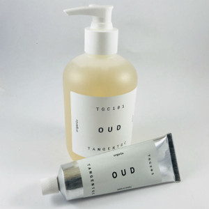 OUD Organic Liquid Hand Soap 350ml and OUD Hand Cream 50ml by Tangent GC