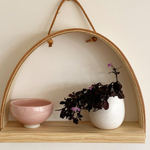 Flora Wall Shelf - Raw - Stix & Flora (items not included)
