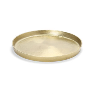 Kindred by Marble Basics - Gold Round Nesting Tray - 30cm diameter