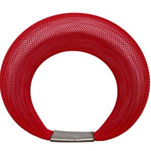 Workshop85 by Sophia Emmett - Bracelet - Single Mesh in Red