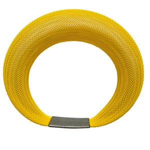 Workshop85 by Sophia Emmett - Bracelet - Single Mesh in Yellow