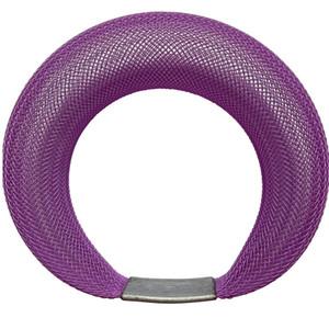 Workshop85 by Sophia Emmett - Bracelet - Single Mesh in Purple