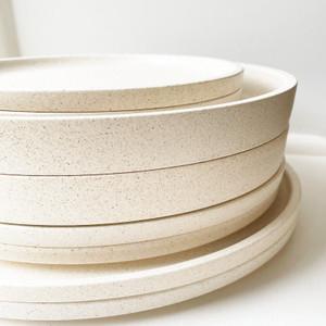 Robert Gordon Platform Dinnerware (Sand) - 2x Dinner Plates, 2x Entree Plates, 2x Side Plates and 2x Bowls