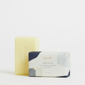 ENA Natural Soap Bar - Pink Grapefruit, Lemon Myrtle & Eucalyptus - 200g