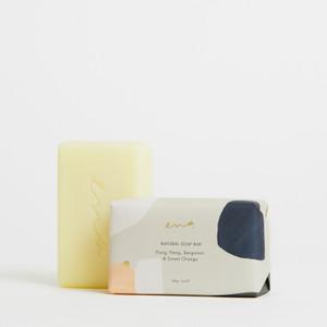ENA Natural Soap Bar - Ylang Ylang, Bergamot & Sweet Orange - 200g