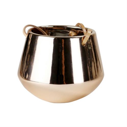 Robert Gordon - Planter Small - Copper and Ceramic collection Copper glazed on Ceramic