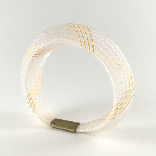 Workshop85 - Sophia Emmett - Bracelet - Entwined Gold and White
