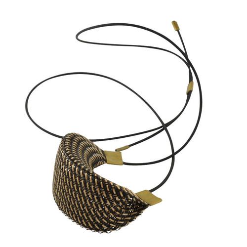 Workshop85 - Sophia Emmett - Necklace adjustable - Entwined Bronze Strand