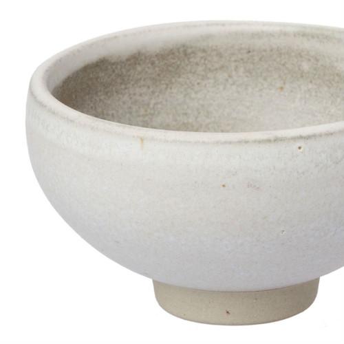 Zakkia - Clay Bowl - White 9cms Diameter